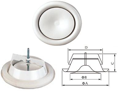 Aeroventil za dovod vazduha ADV-A