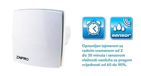 Aksijalni dekor ventilator COSMO+