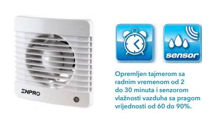 Aksijalni dekor ventilator WIND+